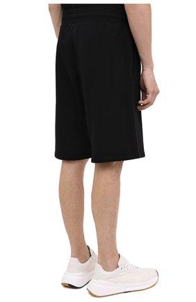 Мужские хлопковые шорты GIVENCHY черного цвета, арт. BM50MT30AF | Фото 5