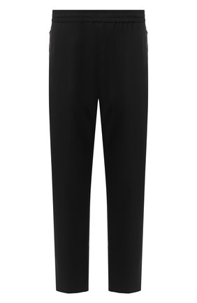 Мужской шерстяные брюки GIVENCHY черного цвета, арт. BM50N61Y8K | Фото 1
