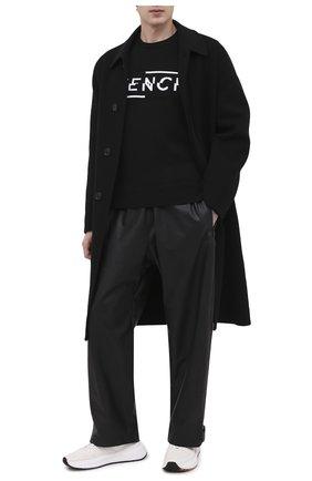 Мужской шерстяной свитер GIVENCHY черного цвета, арт. BM90B44Y5D | Фото 2