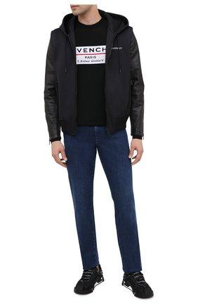 Мужской шерстяной джемпер GIVENCHY черного цвета, арт. BM90BT406B | Фото 2