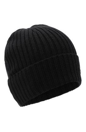 Мужская шерстяная шапка BOSS черного цвета, арт. 50435354 | Фото 1