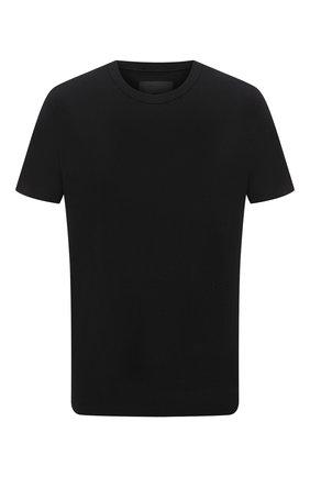 Мужская хлопковая футболка RTA черного цвета, арт. MF0346-7166BLK | Фото 1