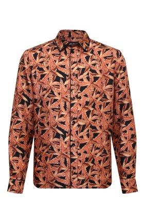 Мужская шелковая рубашка AMIRI разноцветного цвета, арт. F0M06191SE | Фото 1