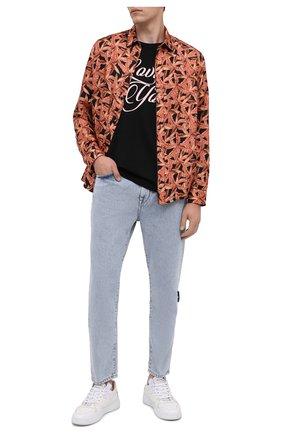 Мужская шелковая рубашка AMIRI разноцветного цвета, арт. F0M06191SE | Фото 2