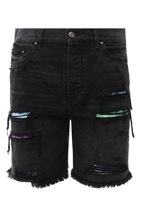 Мужские джинсовые шорты AMIRI черного цвета, арт. F0M11204RD | Фото 1