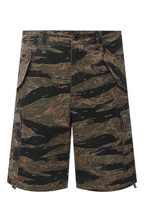 Мужские хлопковые шорты POLO RALPH LAUREN хаки цвета, арт. 710798897 | Фото 1