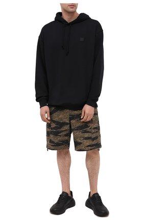 Мужские хлопковые шорты POLO RALPH LAUREN хаки цвета, арт. 710798897 | Фото 2