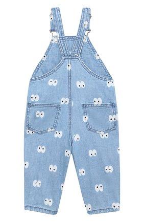 Детский джинсовый комбинезон STELLA MCCARTNEY голубого цвета, арт. 601472/SPK81 | Фото 2