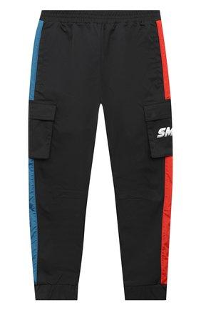 Детские брюки STELLA MCCARTNEY черного цвета, арт. 601444/SPK32 | Фото 1