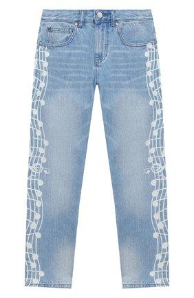 Детские джинсы STELLA MCCARTNEY голубого цвета, арт. 601442/SPK66 | Фото 1