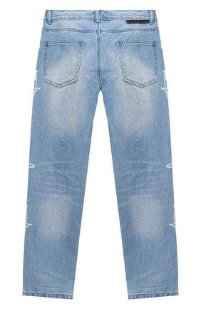 Детские джинсы STELLA MCCARTNEY голубого цвета, арт. 601442/SPK66 | Фото 2