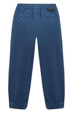 Детские хлопковые брюки-карго STELLA MCCARTNEY синего цвета, арт. 601441/SPK65 | Фото 2