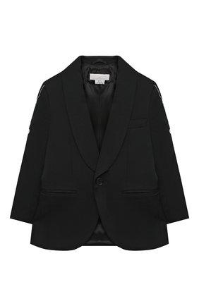 Детский пиджак STELLA MCCARTNEY черного цвета, арт. 601439/SPK77 | Фото 1