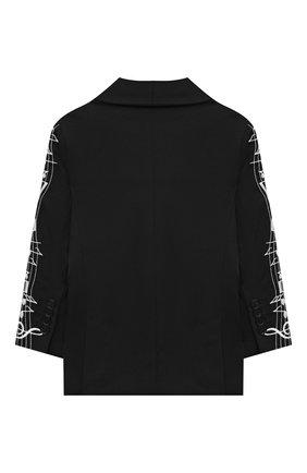 Детский пиджак STELLA MCCARTNEY черного цвета, арт. 601439/SPK77 | Фото 2