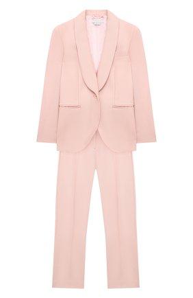 Детский шерстяной костюм STELLA MCCARTNEY розового цвета, арт. 601407/SPKB5 | Фото 1