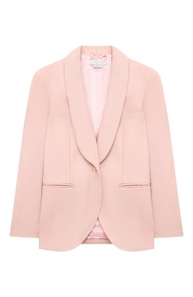 Детский шерстяной костюм STELLA MCCARTNEY розового цвета, арт. 601407/SPKB5 | Фото 2