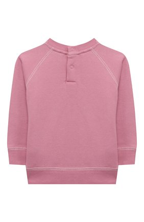 Детский хлопковый свитшот STELLA MCCARTNEY розового цвета, арт. 601056/SPJ99 | Фото 2