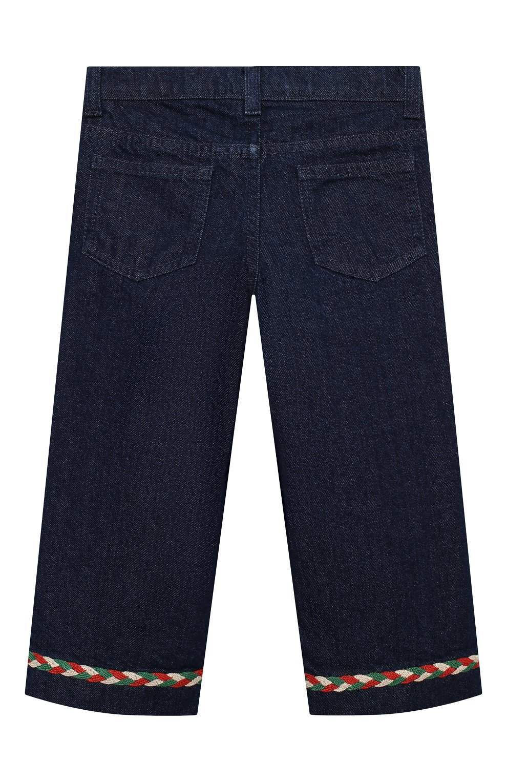 Детские джинсы GUCCI темно-синего цвета, арт. 621808/XDBDB | Фото 2