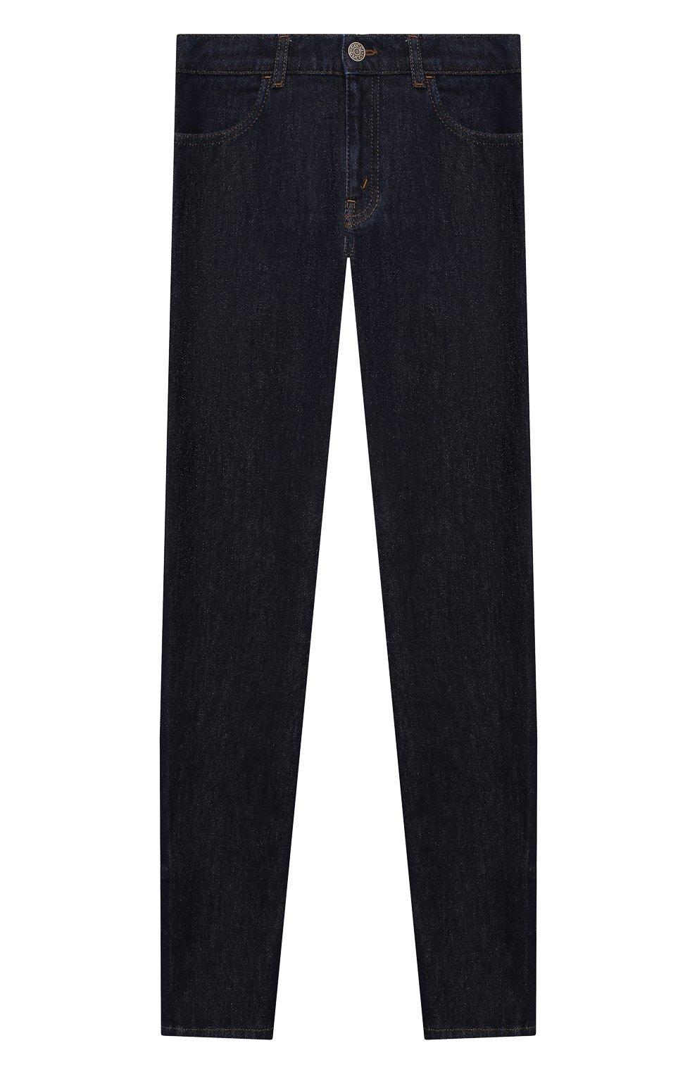 Детские джинсы GUCCI темно-синего цвета, арт. 431161/XDBEL   Фото 1
