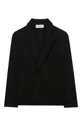 Детский пиджак PAOLO PECORA MILANO черного цвета, арт. PP2118Z/8A-12A | Фото 1