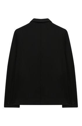 Детский пиджак PAOLO PECORA MILANO черного цвета, арт. PP2118Z/14A-16A | Фото 2