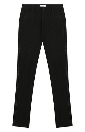 Детские брюки PAOLO PECORA MILANO черного цвета, арт. PP2448Z/8A-12A | Фото 1