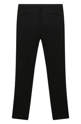 Детские брюки PAOLO PECORA MILANO черного цвета, арт. PP2448Z/8A-12A | Фото 2