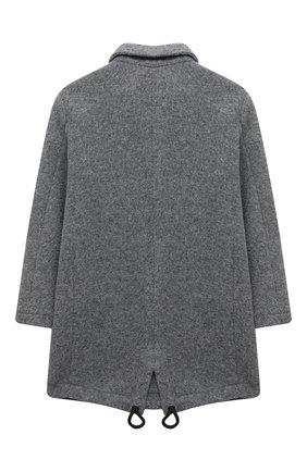 Детское двубортное пальто PAOLO PECORA MILANO серого цвета, арт. PP2526/14A-16A | Фото 2