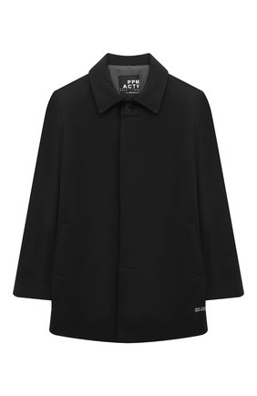 Детское пальто PAOLO PECORA MILANO черного цвета, арт. PP2532/14A-16A | Фото 1