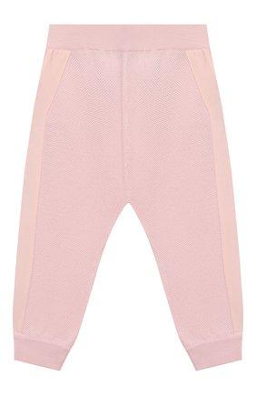 Детские шерстяные брюки LORO PIANA светло-розового цвета, арт. FAI8006 | Фото 1