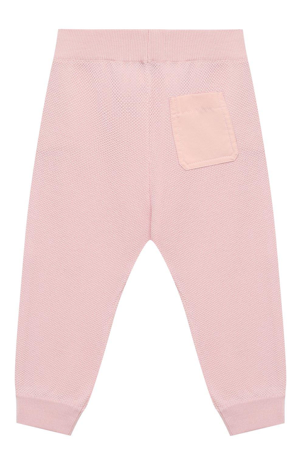 Детские шерстяные брюки LORO PIANA светло-розового цвета, арт. FAI8006 | Фото 2