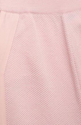 Детские шерстяные брюки LORO PIANA светло-розового цвета, арт. FAI8006 | Фото 3