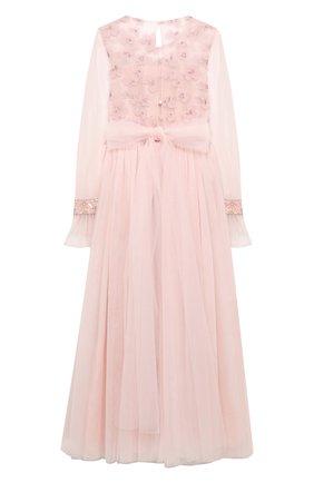Детское платье DESIGNERS CAT розового цвета, арт. 100000K01000576/10A-12A | Фото 2