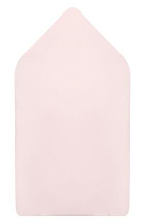 Детский хлопковый конверт LA PERLA розового цвета, арт. 52248 | Фото 2