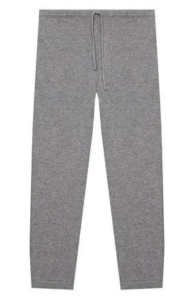 Детские кашемировые брюки LA PERLA серого цвета, арт. 61004/10A-14A | Фото 1