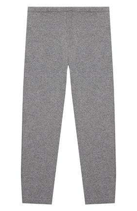Детские кашемировые брюки LA PERLA серого цвета, арт. 61004/10A-14A | Фото 2