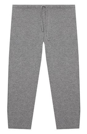 Детские кашемировые брюки LA PERLA серого цвета, арт. 61004/2A-8A | Фото 1