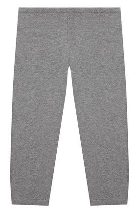 Детские кашемировые брюки LA PERLA серого цвета, арт. 61004/2A-8A | Фото 2