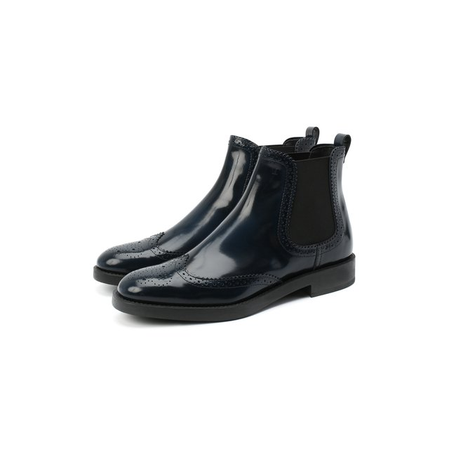 Кожаные ботинки Tod's