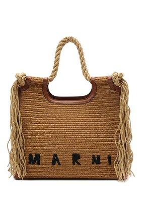 Женский сумка MARNI коричневого цвета, арт. BMMP0024U0/P3860 | Фото 1