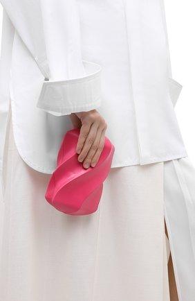 Женский клатч bv whirl BOTTEGA VENETA розового цвета, арт. 639332/VA9A0 | Фото 2