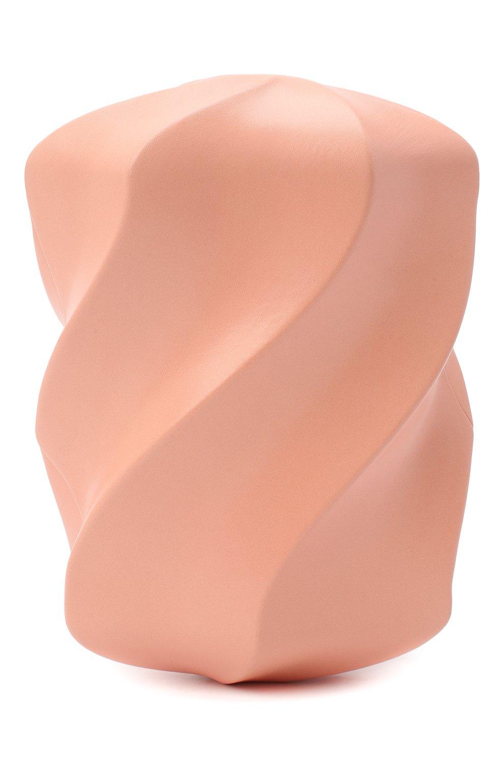 Женский клатч bv whirl BOTTEGA VENETA светло-розового цвета, арт. 639332/VA9A0 | Фото 1