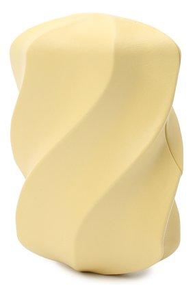 Женский клатч bv whirl BOTTEGA VENETA бежевого цвета, арт. 639332/VA9A0 | Фото 3