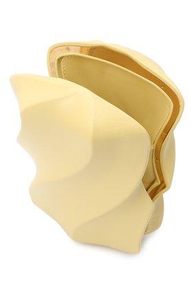 Женский клатч bv whirl BOTTEGA VENETA бежевого цвета, арт. 639332/VA9A0 | Фото 4