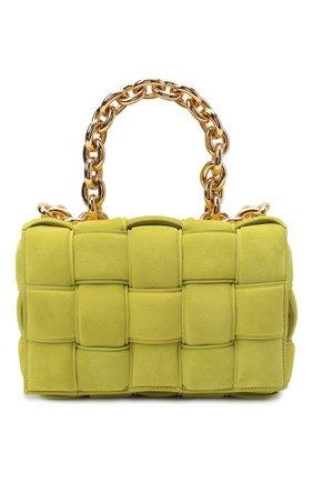 Женская сумка BOTTEGA VENETA светло-зеленого цвета, арт. 631421/V04N0 | Фото 1