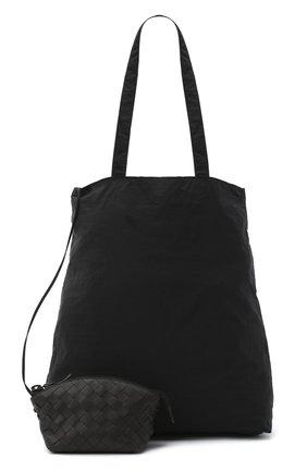 Мужская комплект из сумки и футляра BOTTEGA VENETA темно-коричневого цвета, арт. 629237/VCQG2 | Фото 1