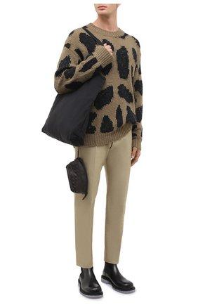 Мужская комплект из сумки и футляра BOTTEGA VENETA темно-коричневого цвета, арт. 629237/VCQG2 | Фото 2