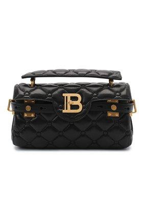 Женская сумка bbuzz 26 BALMAIN черного цвета, арт. UN1S496/LNPW | Фото 1