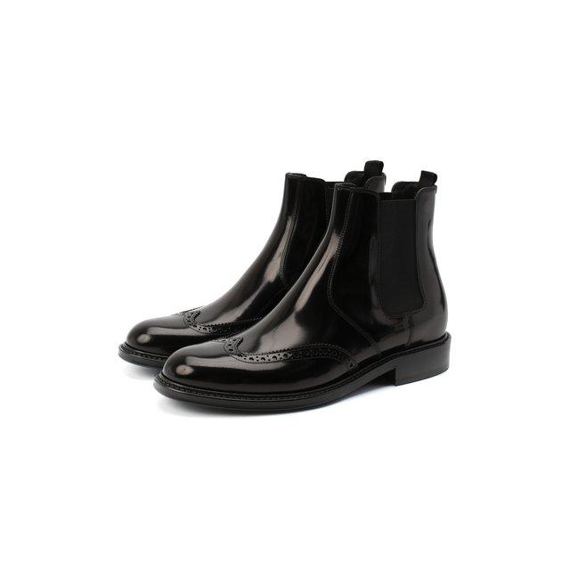 Кожаные ботинки Ceril Saint Laurent