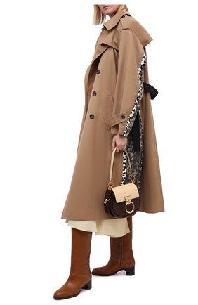 Женские кожаные сапоги liz SEE BY CHLOÉ коричневого цвета, арт. SB35002A/12002 | Фото 2